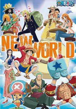 Plakat One Piece - New World Team