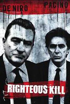 Plakát Oprávněné vraždy - Robert de Niro, Al Pacino