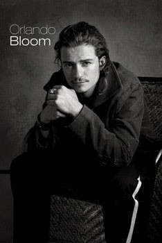 Plakát Orlando Bloom - sitting
