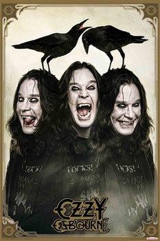 Plakát Ozzy Osbourne - crows