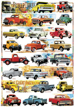 Plakat Pickup trucks S 1931-1980