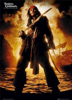 Plakat Pirates of Caribbean - Depp