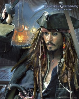 Plakat PIRATES OF THE CARIBBEAN 4 - jack