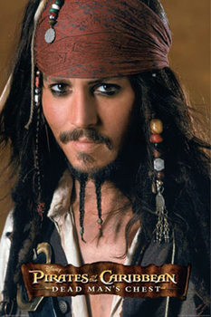 Plakát Pirates of the Caribbean - Johnny Depp