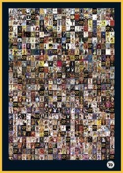 Plakát Playboy - 1953-2002