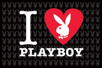 Plakát Playboy - i love Playboy
