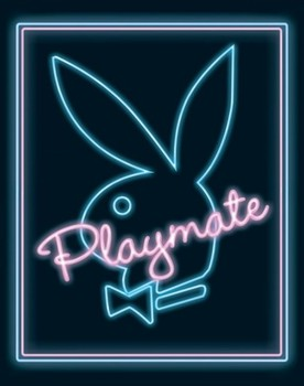 Plakát Playboy - playmate neon