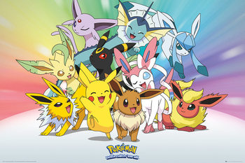 Plakat Pokemon - Eve