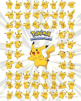 Plakat Pokemon - Pikachu