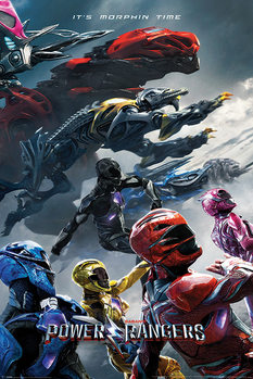 Plakat Power Rangers - Charge