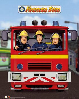 Plakát Požárník Sam - Jupiter