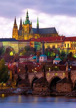 Plakát Praha - Pražský hrad