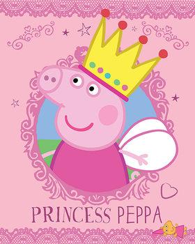 Plakát  Prasátko Peppa - Princess Peppa