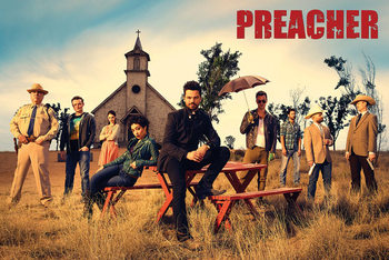 Plakat Preacher - Gruppe