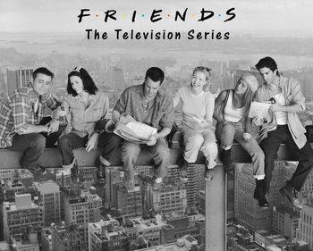 Plakat Przyjaciele - On Girder