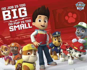 Plakat Psi patrol - No Job Too Big