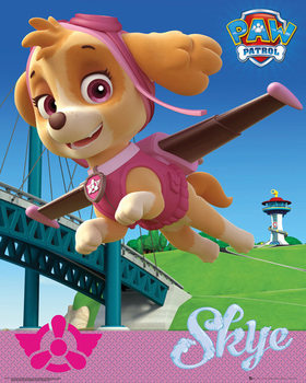 Plakat Psi patrol - Skye