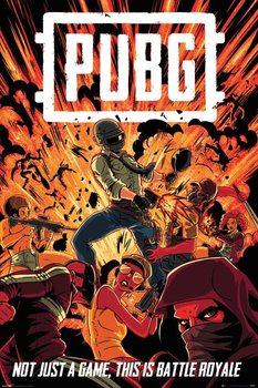 Plakat  PUBG - Boom