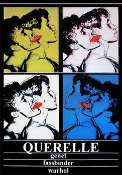 Plakát Querelle - Genet, Fassbinder, Andy Warhol
