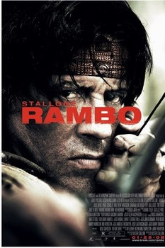 Plakát  RAMBO 4 - one sheet