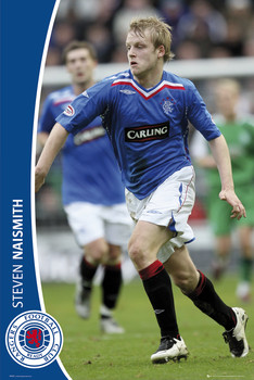 Plakat Rangers - naismith 07/08