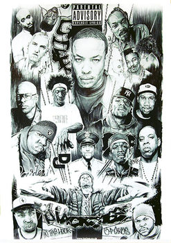 Plakat Rap Gods 2 - Various Rappers