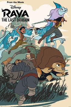 Plakat Raya and the Last Dragon - Jumping into Action