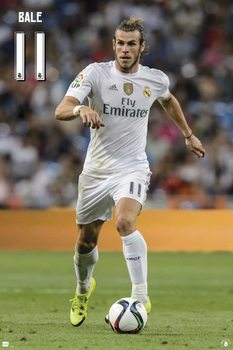 Plakat Real Madrid 2015/2016 - Bale accion