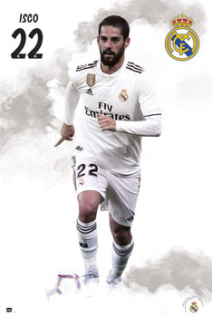 Plakát Real Madrid 2018/2019 - Isco