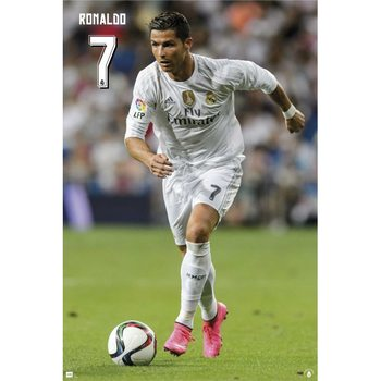 Plakat Real Madrid - Ronaldo