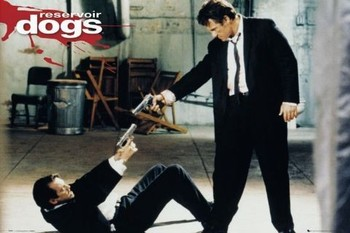 Plakat RESERVOIR DOGS - guns