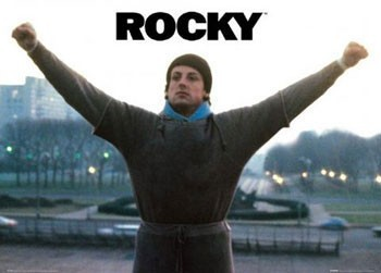 Plakat  ROCKY - arms