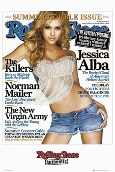 Plakat ROLLING STONE magazyn - Jessica Alba