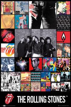 Plakát Rolling Stones - discography