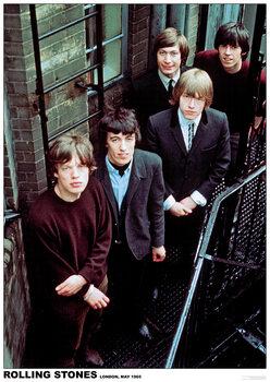 Plakát Rolling Stones - London 1965