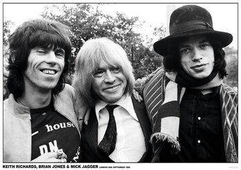 Plakat Rolling Stones - London 1968