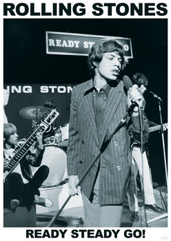 Plakát Rolling Stones - Ready Steady Go