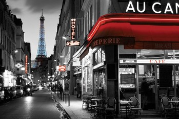 Plakát Rue Parisienne