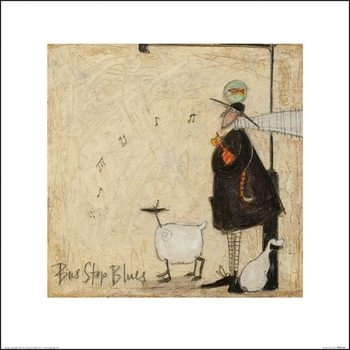 Reprodukcja Sam Toft - Bus Stop Blues