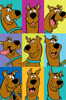 Plakát Scooby Doo - The Many Faces of Scooby Doo