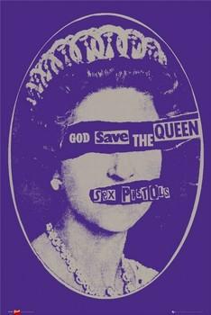 Plakát Sex Pistols - god save the Queen
