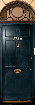 Plakát  Sherlock - 221b Door