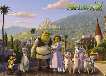 Plakat SHREK 2 -  cast