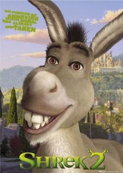 Plakat SHREK 2 - dunkey