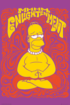 Plakat Simpsonowie - Enlightenment