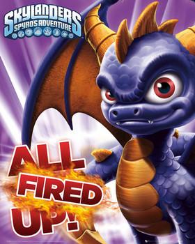 Plakat Skylanders Spyro