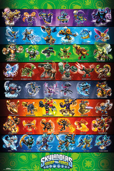 Plakat Skylanders swap force - Force Compilation