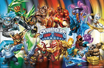 Plakat Skylanders Trap Team - Goodies