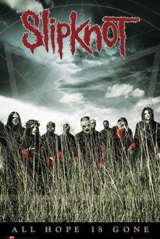 Plakát  Slipknot - all hope