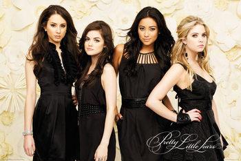 Plakat  Słodkie kłamstewka - Black Dresses